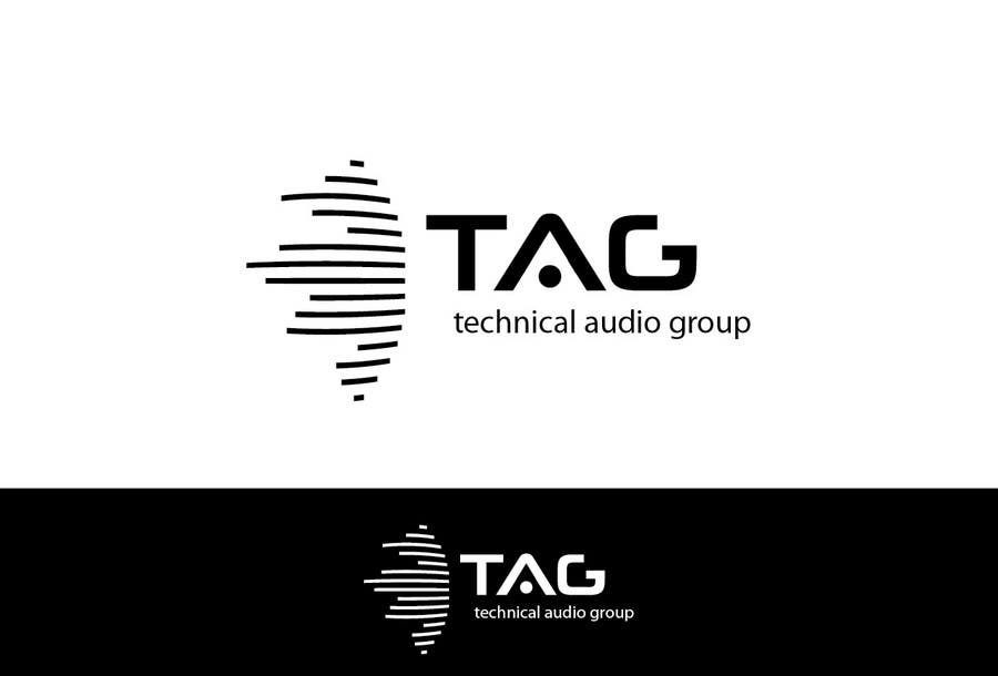 #146 for Logo Design for Technical Audio Group    TAG by trangbtn