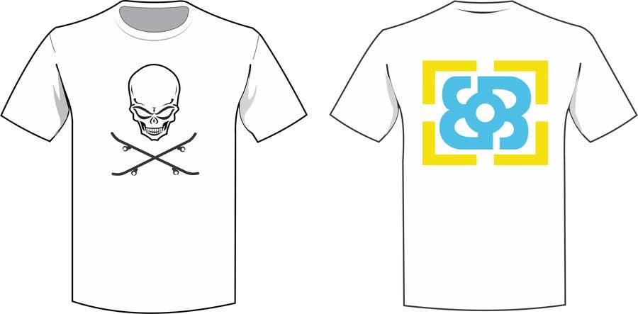 Inscrição nº                                         10                                      do Concurso para                                         Design a T-Shirt for Skate Company