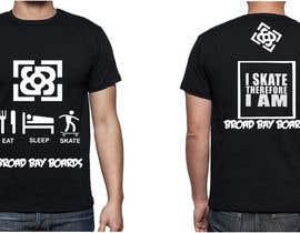 #60 para Design a T-Shirt for Skate Company por AshrayaG