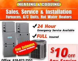 nº 18 pour Design an Advertisement for heating & cooling par LampangITPlus