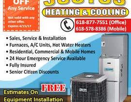 nº 19 pour Design an Advertisement for heating & cooling par Imani84