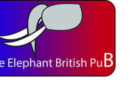 #201 untuk Logo Design for The Elephant British Pub oleh wtmonteros