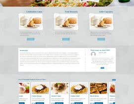 #72 for Design a Website Mockup and corporate identity for cake business af jbesclapez