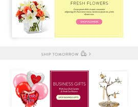 #9 for Gift Baskets, Personalized Gifts, Flowers & Balloons Homepage, and Product and Sub product pages Design Improvement Project af nanindapangestut