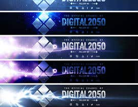 #37 for Design a Logo / Banner for Digital2050 by tania1kushniruk