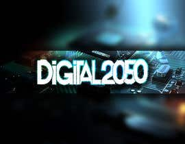 #9 for Design a Logo / Banner for Digital2050 by Kitteehdesign