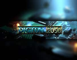#67 for Design a Logo / Banner for Digital2050 by Kitteehdesign