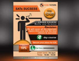 #7 for Design a Tutoring Flyer with logo size A5 by parvezraton