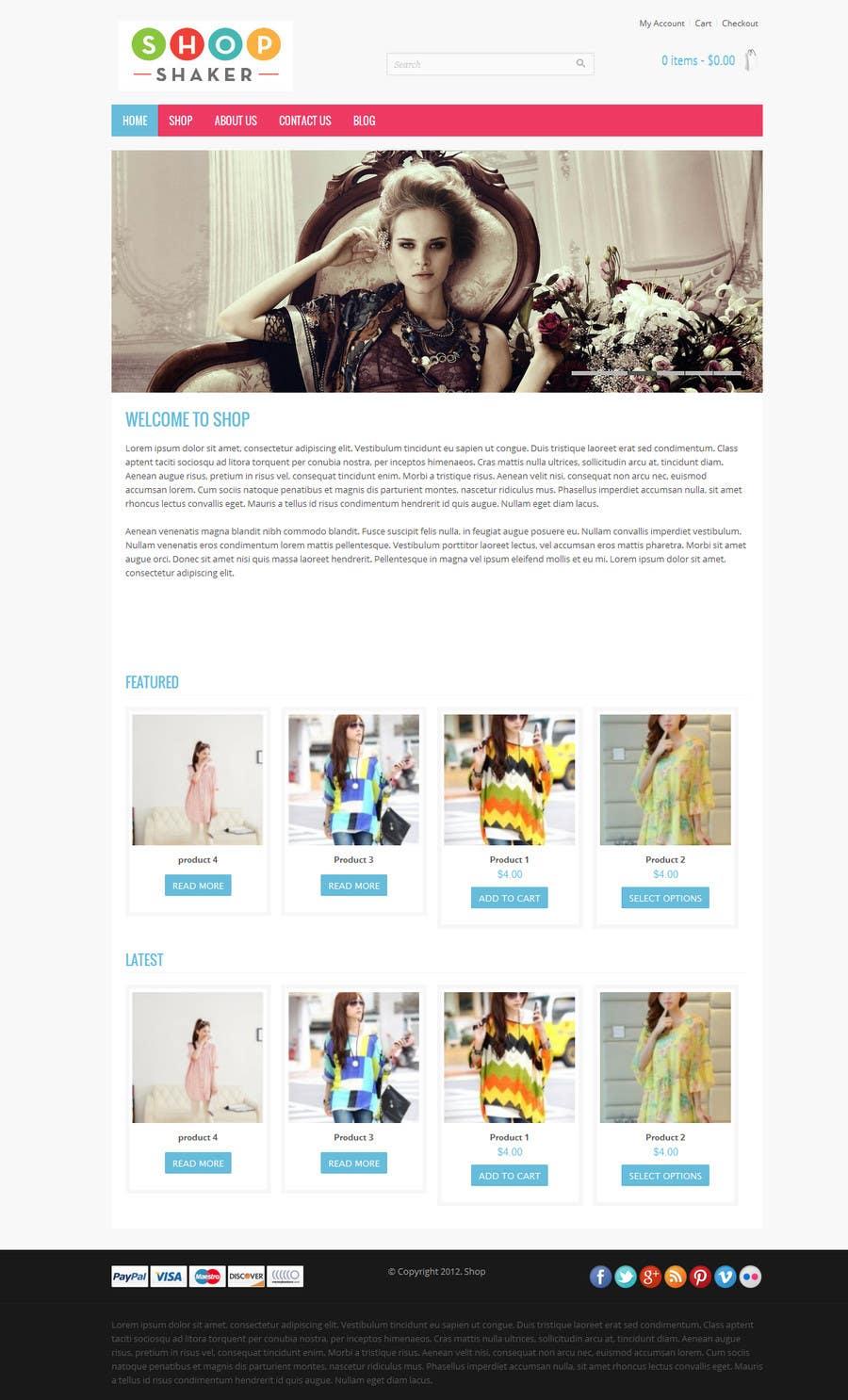Bài tham dự cuộc thi #                                        1                                      cho                                         Design a Website Mockuup for Jimdo Site