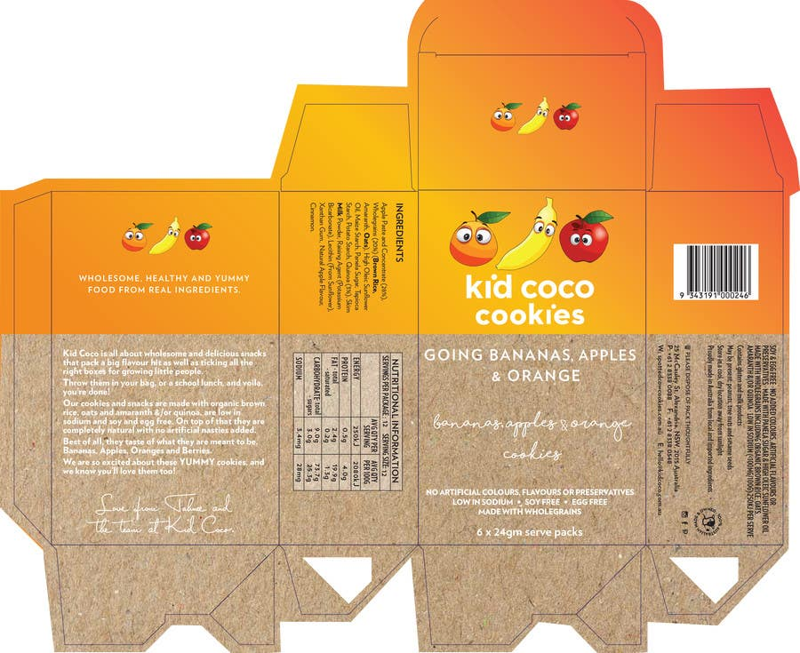 Kilpailutyö #2 kilpailussa Create Packaging Designs