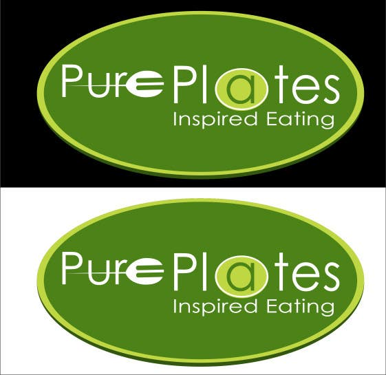 "Proposition n°290 du concours Logo Design for ""Pure Plates ... Inspired Eating"" (with trade mark bug)"