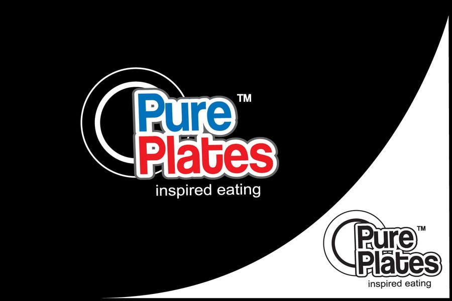 """Proposition n°135 du concours Logo Design for """"Pure Plates ... Inspired Eating"""" (with trade mark bug)"""