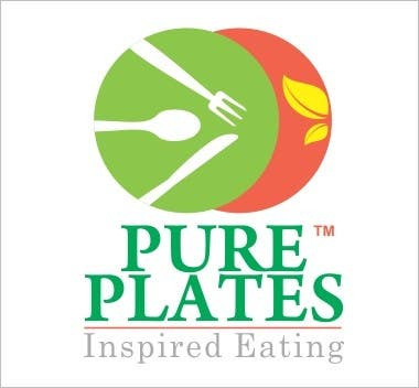 """Proposition n°390 du concours Logo Design for """"Pure Plates ... Inspired Eating"""" (with trade mark bug)"""