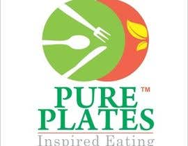 "#390 para Logo Design for ""Pure Plates ... Inspired Eating"" (with trade mark bug) por printographer"