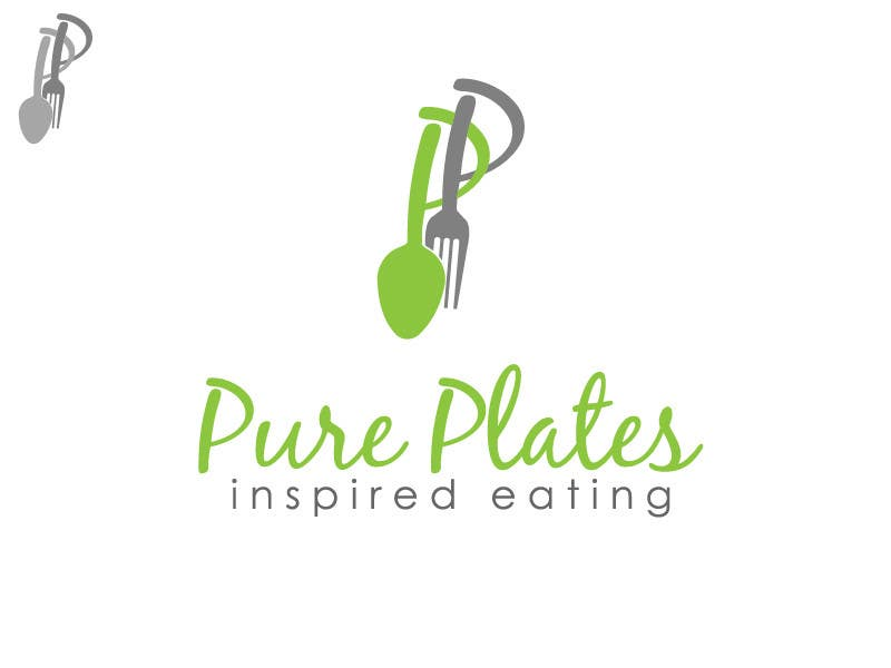 """Proposition n°344 du concours Logo Design for """"Pure Plates ... Inspired Eating"""" (with trade mark bug)"""