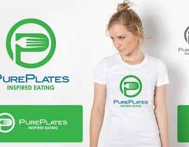 "#13 para Logo Design for ""Pure Plates ... Inspired Eating"" (with trade mark bug) por IzzDesigner"