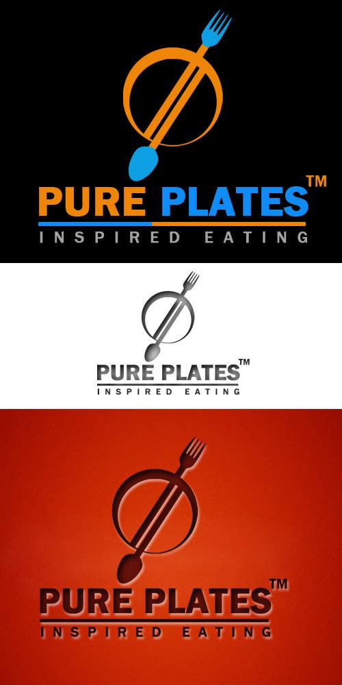"Konkurrenceindlæg #169 for Logo Design for ""Pure Plates ... Inspired Eating"" (with trade mark bug)"