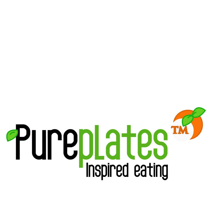 "Proposition n°398 du concours Logo Design for ""Pure Plates ... Inspired Eating"" (with trade mark bug)"