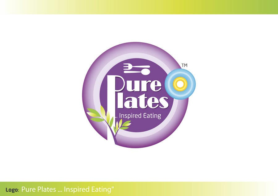 "Proposition n°315 du concours Logo Design for ""Pure Plates ... Inspired Eating"" (with trade mark bug)"