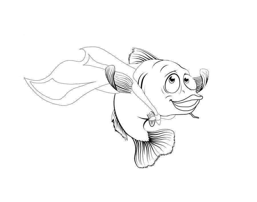 Entry 25 By Gavrielespinoza For Create An Image Of A Fish Wearing A