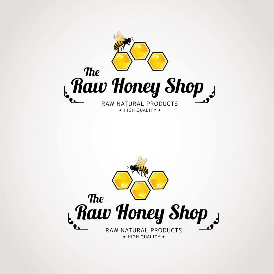 #186 for Logo Design for The Raw Honey Shop by Ollive