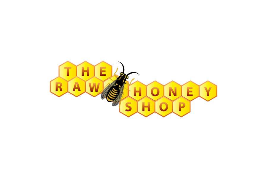 Proposition n°                                        413                                      du concours                                         Logo Design for The Raw Honey Shop
