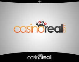 #128 para Logo Design for Casinoreal.com por MladenDjukic