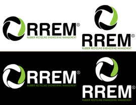 #180 para Logo Design for RREM  (Rubber Recycling Engineering Management) por askleo