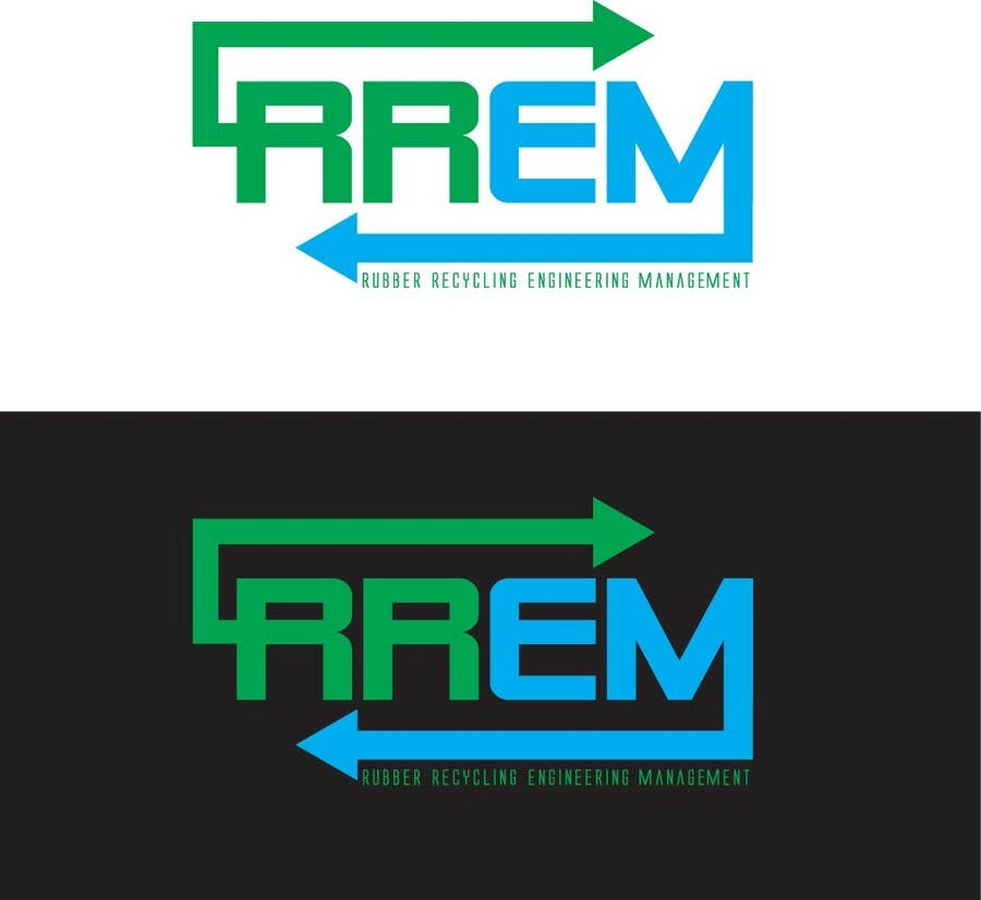 Contest Entry #580 for Logo Design for RREM  (Rubber Recycling Engineering Management)