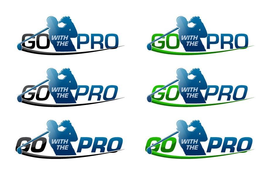 Penyertaan Peraduan #163 untuk Logo Design for Go With The Pro