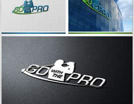 #109 para Logo Design for Go With The Pro por CTRaul