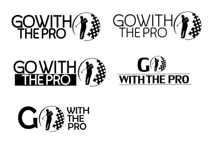 Penyertaan Peraduan #20 untuk Logo Design for Go With The Pro