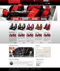 Graphic Design Entri Peraduan #23 for Design a Website Mockup for an auto seat cover manufacturer