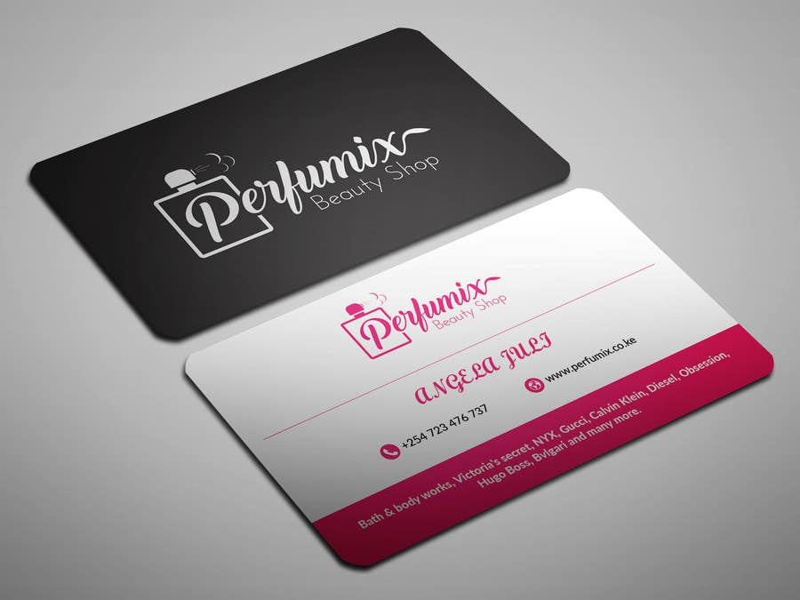 Entry #169 by sahajid000 for business card for beauty shop   Freelancer