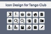 Icon or Button Design for Tango Club için Graphic Design54 No.lu Yarışma Girdisi