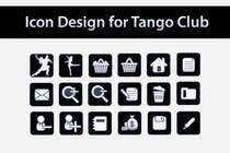 Icon or Button Design for Tango Club için Graphic Design57 No.lu Yarışma Girdisi
