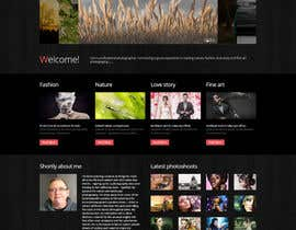 nº 10 pour Design a Photography Website par JohnyCode