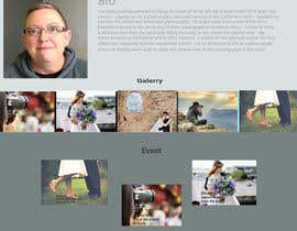 nº 15 pour Design a Photography Website par rereratnasari24
