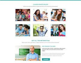 "#8 untuk Design a Website Mockup for ""Queensford College"" oleh shabcreation"