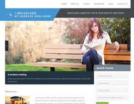 "#4 untuk Design a Website Mockup for ""Queensford College"" oleh quantumsoftapp"