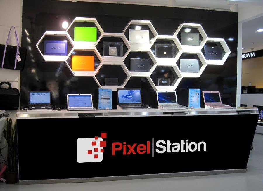 Penyertaan Peraduan #227 untuk Logo Design for Company Pixel Computer, Brand Pixel Station