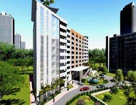 Nro 2 kilpailuun Rendering Construction Building 3D Image käyttäjältä archmamun