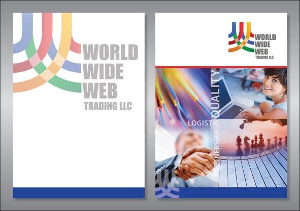 Kilpailutyö #9 kilpailussa Brochure Design for World Wide Web Trading LLC