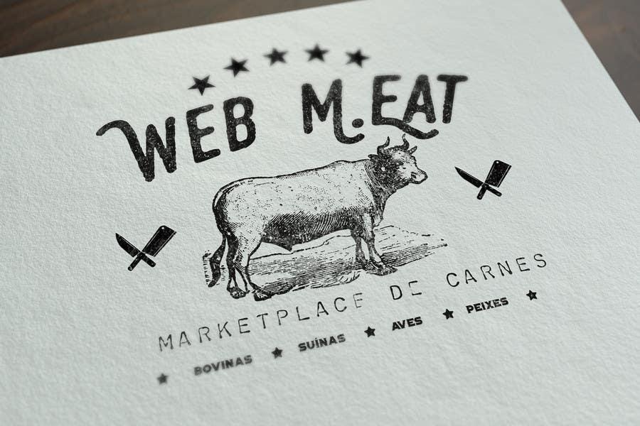Inscrição nº                                         33                                      do Concurso para                                         LogotipoLogotipo para Marketplace de Carnes - Web Meat