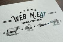 Graphic Design Inscrição do Concurso Nº51 para LogotipoLogotipo para Marketplace de Carnes - Web Meat
