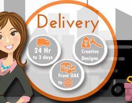 #29 untuk Design a Delivery banner oleh somaya4me