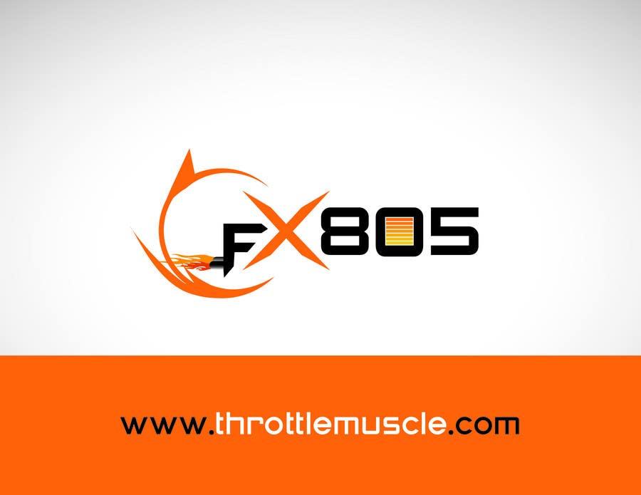 Inscrição nº                                         95                                      do Concurso para                                         Logo Design for FX805