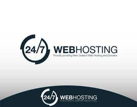 #82 para Logo Design for 24/7 Hosting por WebofPixels