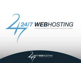#85 para Logo Design for 24/7 Hosting por WebofPixels