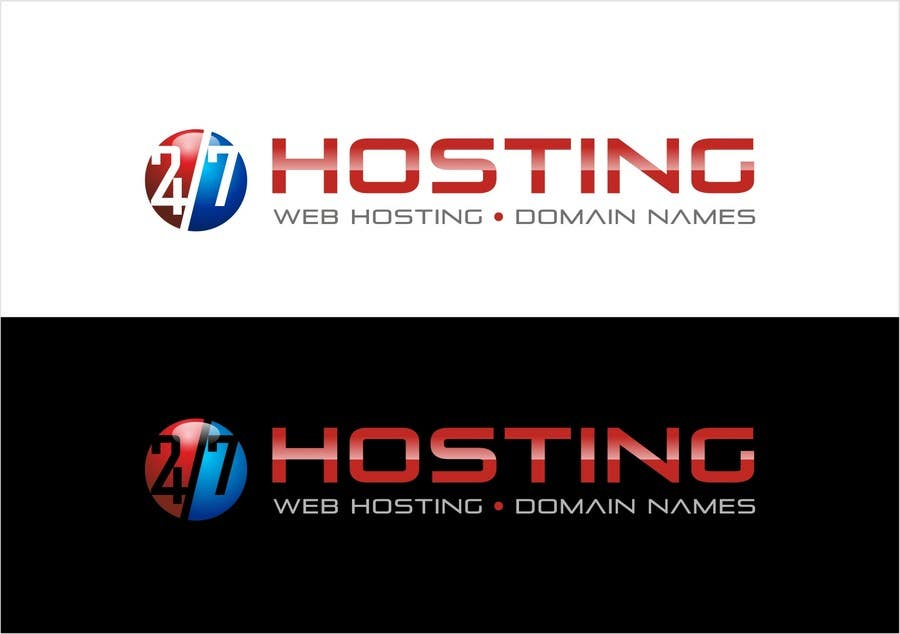 Inscrição nº 43 do Concurso para Logo Design for 24/7 Hosting